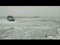 ледовый заездик на Паджеро Спорт