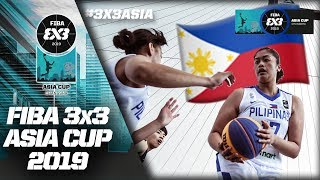 Philippines 3x3 rout Vanuatu to close out Day 2 | Women's Full Game | FIBA 3x3 Asia Cup 2019