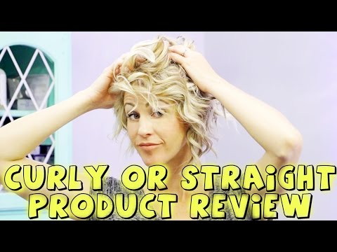 CURLY OR STRAIGHT HAIR // LIONESSE PRODUCT REVIEW