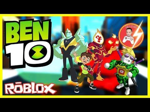 Roblox   MrDFLASH Trò Chơi Ben 10 - #Roblox Ben 10 AoA   Mr.D-Flash