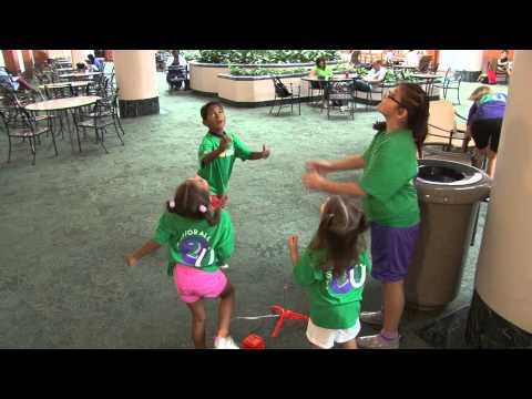 MD Anderson childhood cancer patients enjoy Camp For All 2 U
