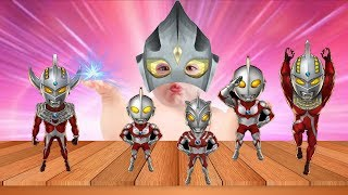 Ultraman Good Baby Learn Colors for Kids Finger Family Song Learn Colors