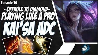 PLAYING KAI'SA LIKE A PRO... KINDA - OffRole to Diamond - Ep. 10   League of Legends
