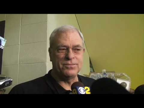 Lakers Coach Phil Jackson on Kobe Bryant sitting out last two games