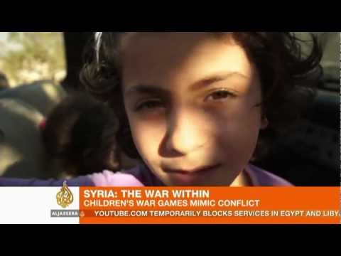 Syria's children cope with daily violence