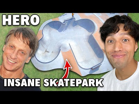 Tony Hawk's $1 Million Dollar Skatepark In New Jersey!