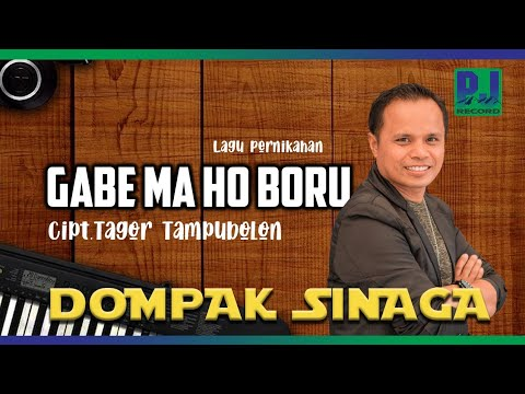 GABE MA HO BORU - Dompak Sinaga Vol 4  (Official Music Video)