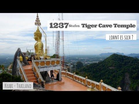 Tiger Cave Tempel in Krabi - Thailand - Vlog #58