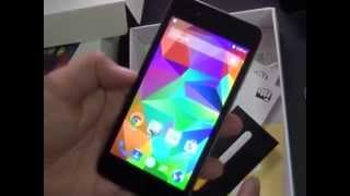 Micromax Canvas Spark Q380 unboxing