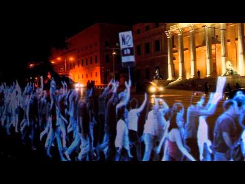 The World's First Hologram Protest