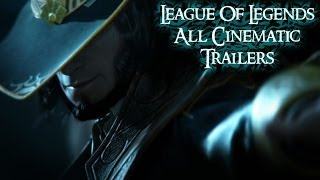 All League of Legends Cinematic Trailers (Compilation) HD720p