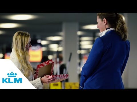 Happy Holidays flight (KLM)