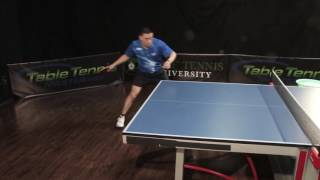 Shadow Training to Improve Your Table Tennis Footwork (Part 2)