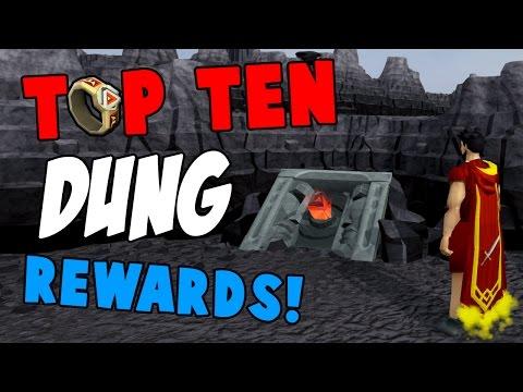 Runescape 2017 | Top 10 Dungeoneering Rewards