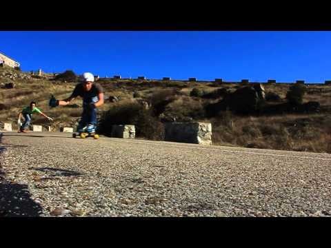 Downhill in Colmenar - Madrid crew