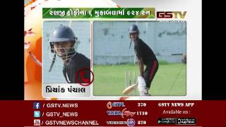GSTV EXCLUSIVE: Priyank Panchal become first opener from Gujarat to hit triple century in Ranji