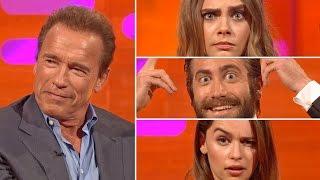 Arnold Schwarzenegger Judges The BEST EYEBROW PERFORMANCE - The Graham Norton Show