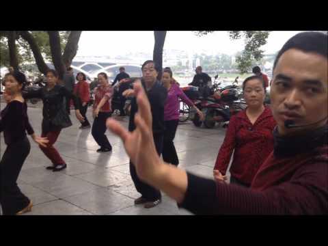 Уличные танцы. Китай.