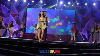 Part 1 - James Reid Nadine Lustre Performs at  PMPC star Awards for TV Awards Night