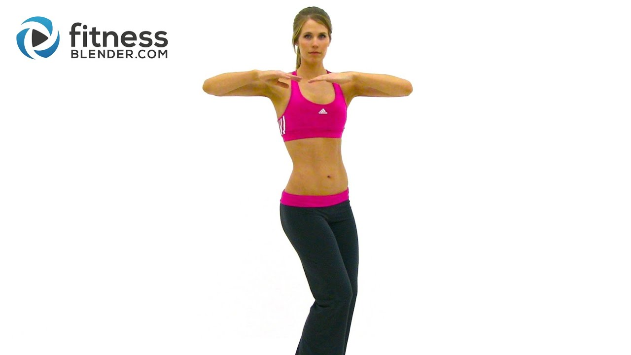 Standing Abs Exercises 10 Minute Standing Abs Workout To