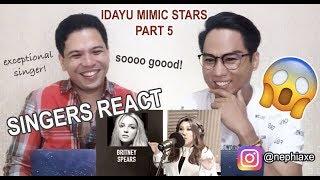 VIRAL IDAYU MIMIC STARS - Part 5   SINGERS REACT