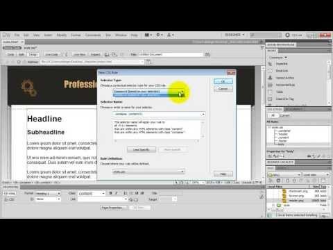 Download  How To Make a Website in Dreamweaver AMAZING Tutorial! Gratis, download lagu terbaru
