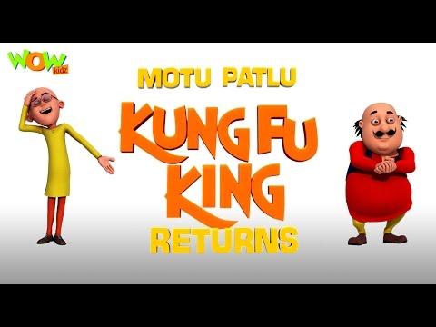 Motu Patlu Kungfu King Returns - Motu Patlu Movie - ENGLISH, SPANISH & FRENCH SUBTITLES!