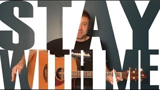 Learn How to Play: Stay With Me - Sam Smith - NYC Guitar School Beginner Guitar Tutorial