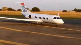 RC EDF Model Canadair Regional Jet