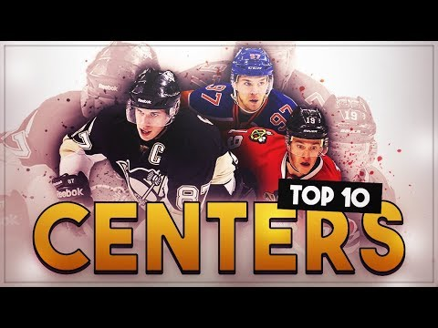 RANKING THE TOP 10 CENTERS IN THE NHL