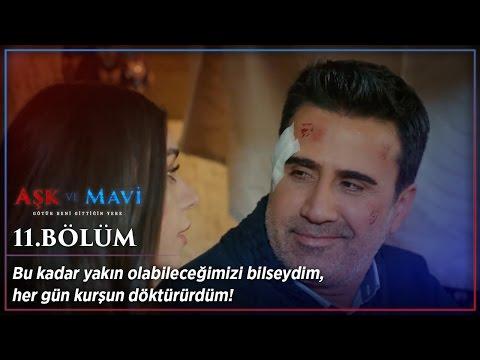 Aşk ve Mavi 11.Bölüm - Ali ve Mavi kurşun döktürüyor!