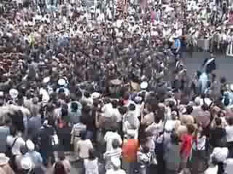 富岡八幡宮 例祭 神輿渡御 仲二町会 2010年8月15日 Music ...  富岡八幡宮 例