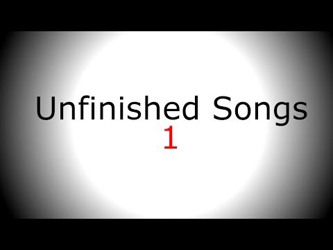 Singing backing track - write your own lyrics and tune - Unfinished Song No.1