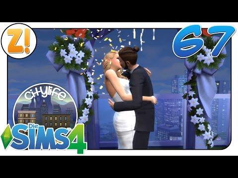 Sims 4 [Citylife Challenge]: Die Hochzeit #67 | Let's Play [DEUTSCH]