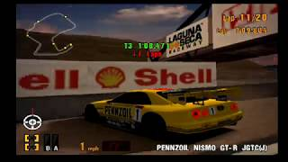 Gran Turismo 3 EPIC RACE! SO many Spinouts, Crashes, and Collisions on the All Japan GT Championship