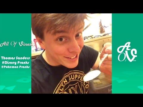 Thomas Sanders Disney Pranks/Pokemon Pranks With Friends   Funny Thomas Sanders Vines   AllOfVines?