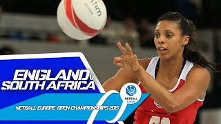 England v South Africa I Netball Europe Open Championships 2015