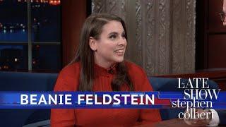 Beanie Feldstein Got A Compliment From Dumbledore