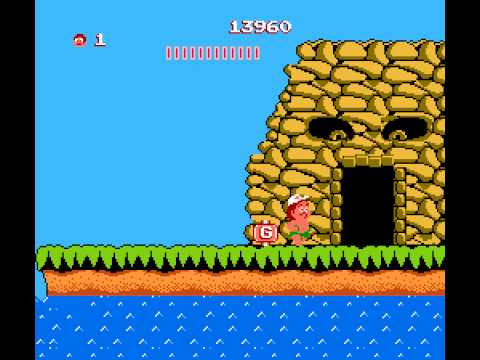 Adventure Island - Adventure Island NES Gameplay - User video