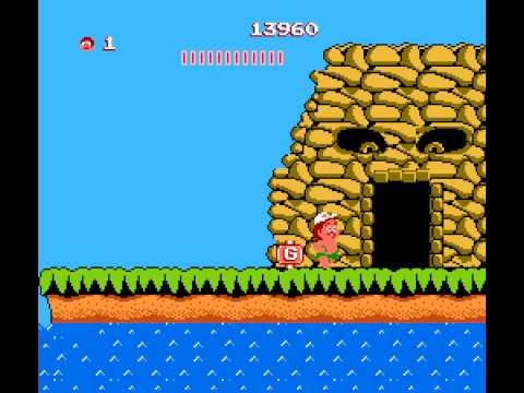 Adventure Island - Adventure Island NES Gameplay - User video