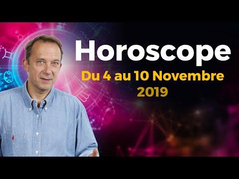 Horoscope semaine du 4 novembre 2019