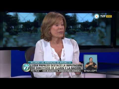 Visión 7 - Causa Papel Prensa Lidia Papaleo