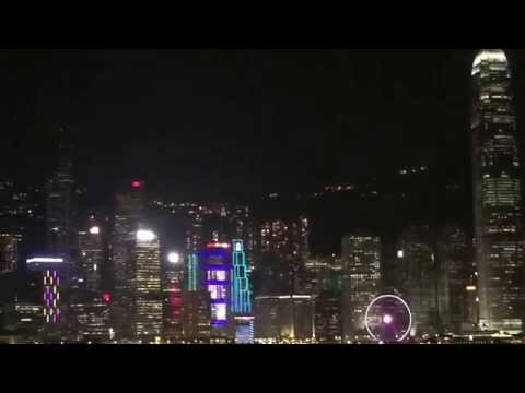 Hong Kong symphony of lights daily show