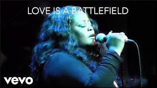 Maysa - Love Is A Battlefield (Lyric Video)