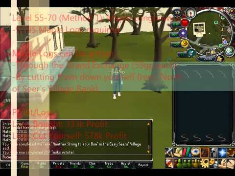 [Runescape] 1-99 Fletching Guide 2012