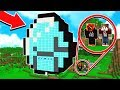 HOW TO LIVE INSIDE THE WORLD'S BIGGEST DIAMOND in MINECRAFT!