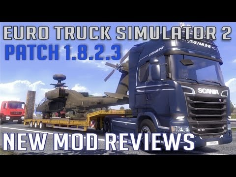 Scania Streamline Patch 1.8 and Realistic Physics Mod V8 (Euro Truck Simulator 2)