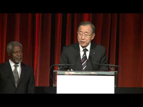 Ban Ki-moon: 2012 Global Leadership DInner