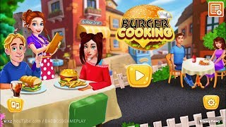 Hot Cooking Burger Restaurant - Android Gameplay ( Cooking Games )