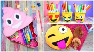 3 DIY Emoji Projects You NEED To Try! Back to school DIY